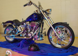 "HogTown Cycles Baconfest 2016 Custom Bike Show | People's Choice: ""Angel From Hell"" Bike by Brad Poysor of Mt. Brydges, ON"