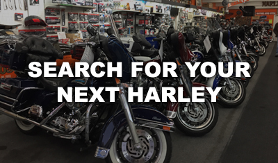 Choose your next Harley-Davidson motorcycle at Hogtown Cycles