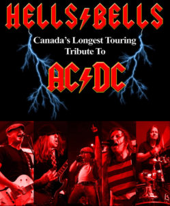 AC/DC Cover Band, Hell Bells playing live at Baconfest 2017 in Lucan, Ontario
