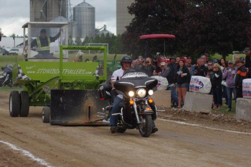 Baconfest 2016 Harley Pulls in Lucan, Ontario