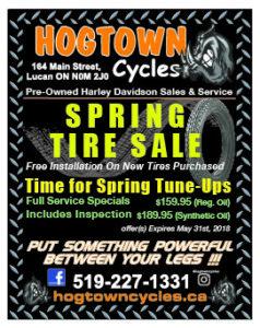 Hogtown Cycles Spring Open House @ Hogtown Cycles | Lucan | Ontario | Canada