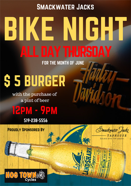Bike Nights poster