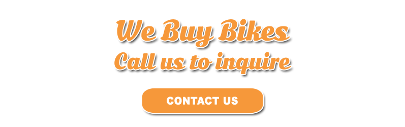 Hogtown Cycles buys bikes. Call us today to inquire.