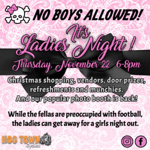 Ladies' Night @ Hogtown Cycles | Lucan | Ontario | Canada