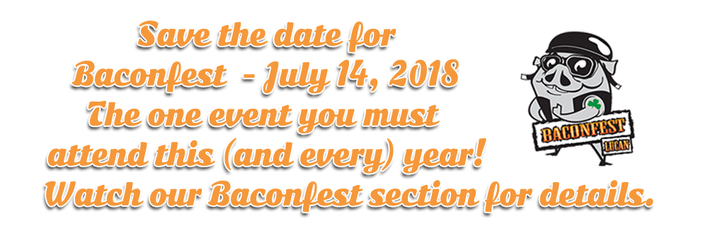 Baconfest 2018 hosted by HogTown Cycles in Lucan, Ontario