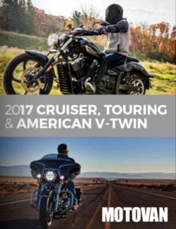 Browse 2017 MOTOVAN Cruiser, Touring, American V-Twin Catalogue