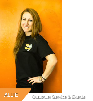 Allie, Customer Service & Special Events at Hogtown Cycles in Lucan, Ontario