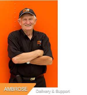 Ambrose, Delivery & Support at Hogtown Cycles in Lucan, Ontario