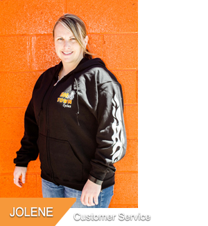 Jolene, Customer Service at Hogtown Cycles in Lucan, Ontario