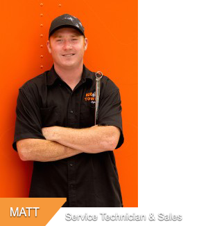 Matt, Service Technician & Sales at Hogtown Cycles in Lucan, Ontario