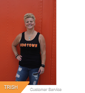 Trish, Customer Service at Hogtown Cycles in Lucan, Ontario