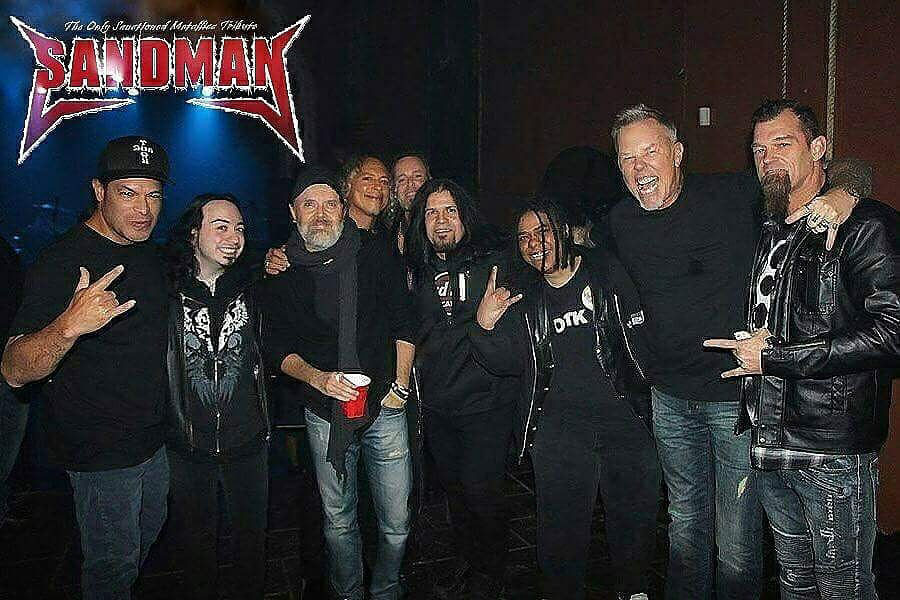 Baconfest Live Music  Sandman The only Metallica-sanctioned Tribute Band
