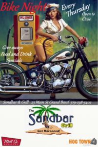Bike Nights at the Sandbar & Grill @ Sandbar & Grill | Lambton Shores | Ontario | Canada