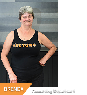 Brenda - Accounting at Hogtown Cycles in Lucan, Ontario