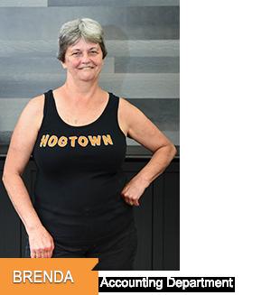 Brenda - Accounting at Hogtown Cycles in Lucan, Ontario