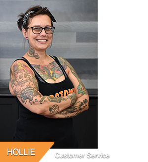 Hollie - Customer Service at Hogtown Cycles in Lucan, Ontario