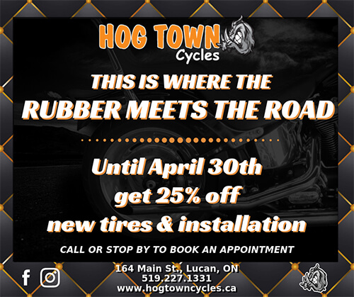 Tires and Installation Special for Harley-Davidson at Hogtown Cycles