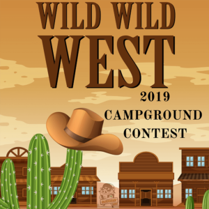Wild Wild West Campground Contest at Baconfest 2019