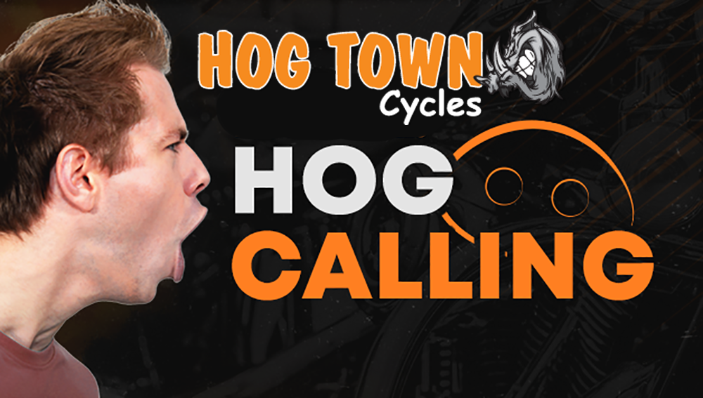 Hog calling contest at Baconfest 2019 | Hogtown Cycles