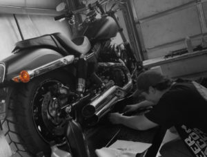 Brandon | Motorcycle Mechanic at Hogtown Cycles