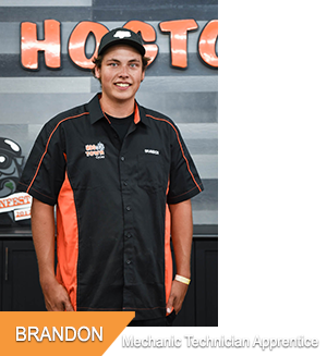 Brandon, Mechanic Technician Apprentice at Hogtown Cycles