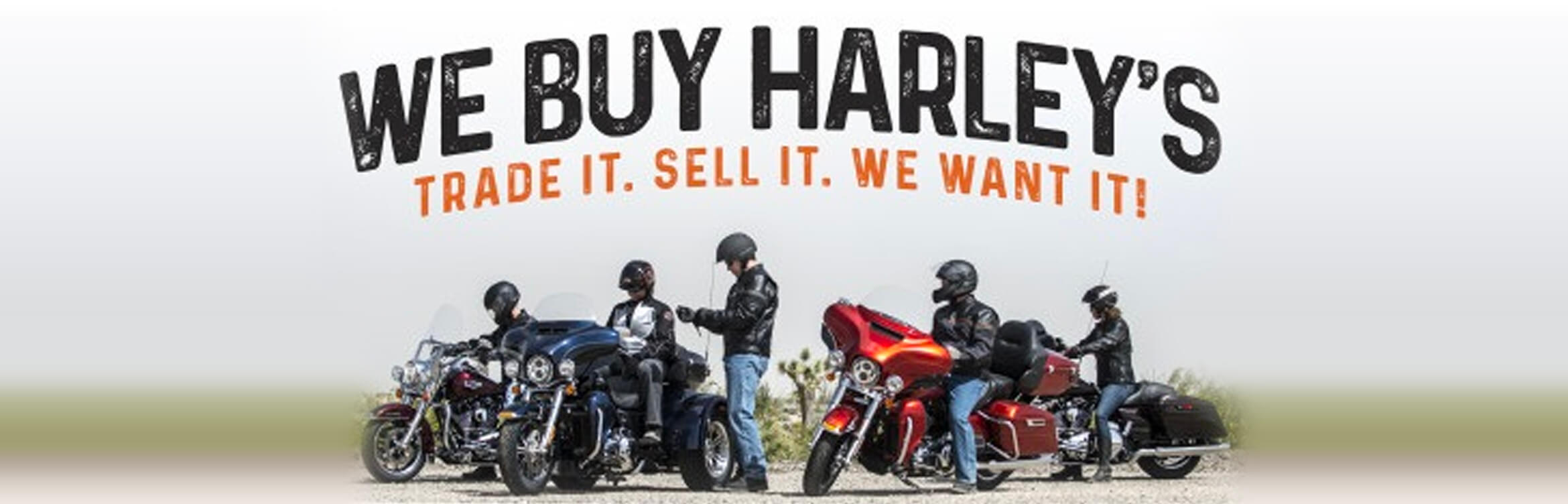 Hogtown Cycles buys Harley-Davidson motorcycles and accepts them on trade